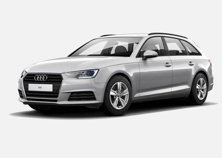 Audi A4 Avant s-Line 40 TDI quattro 190 KM s-Tronic Srebrny Florett
