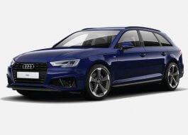 Audi A4 Avant sLine 40 TDI Quattro 190 KM s Tronic Niebieski Navarre w cenie PLN 203800 | 18 czerwca 2021