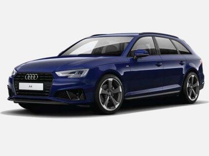 Audi A4 Avant sLine 40 TDI Quattro 190 KM s Tronic Niebieski Navarre w cenie PLN 203800 | 26 września 2020