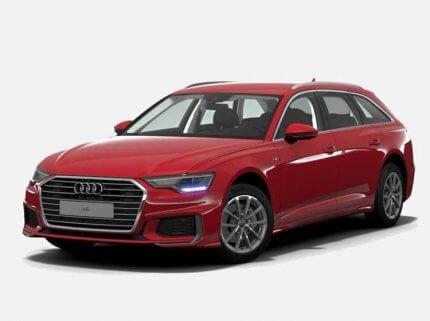 Audi A6 Avant Sport 45 TFSI quattro 245 KM Automat Czerwony Tango w cenie PLN 251500 | 26 września 2020