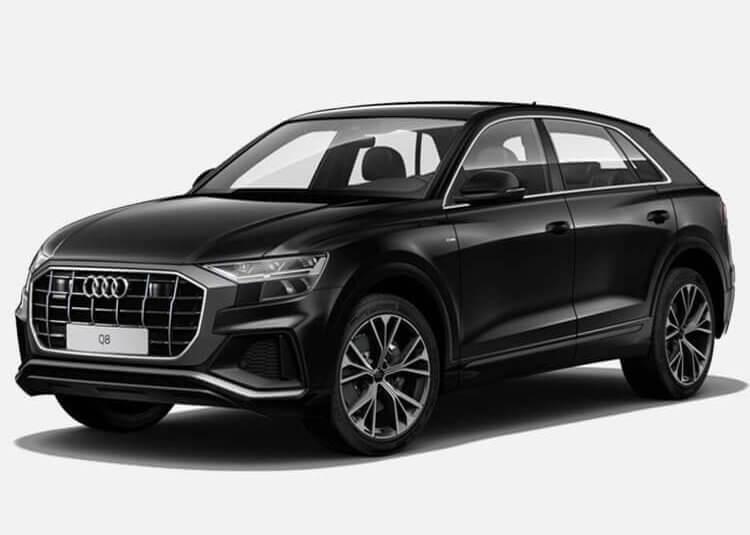 Audi Q8 SUV S-line 3.0 Diesel Quattro 286 KM Automat Czarny Deep