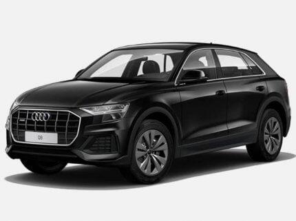 Audi Q8 SUV Sport 50 TDI Quattro 231 KM tiptronic Czarny Deep w cenie PLN 322800 | 26 września 2020