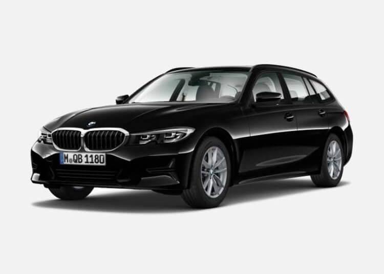 BMW 320d Touring Sport Line 2.0 Diesel RWD 190 KM Automat Czarny