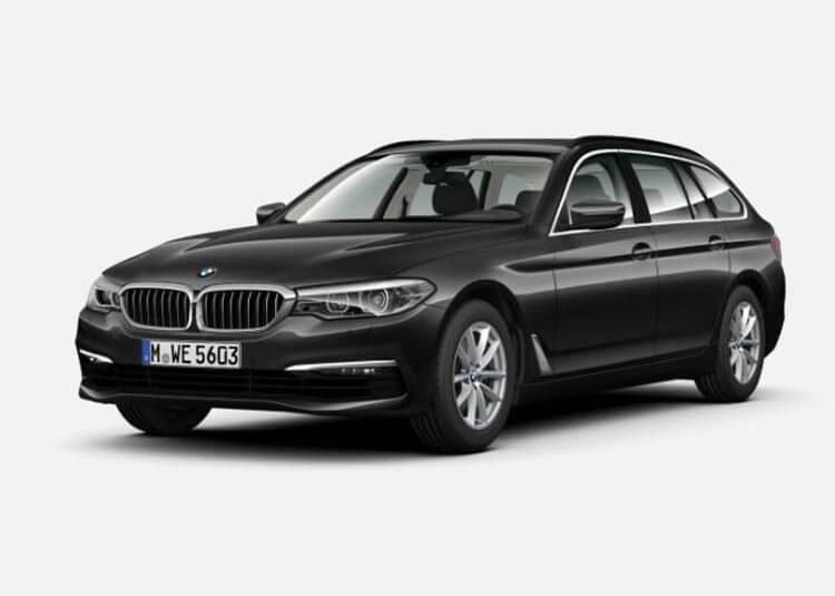 BMW 520d Touring Sport Line 2.0 Diesel RWD 190 KM Automat Szary Sophisto