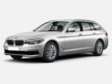 BMW 520d Touring Sport Line 2.0 Diesel xDrive 190 KM Automat Srebny Glacier w cenie PLN 206200 | 26 września 2020