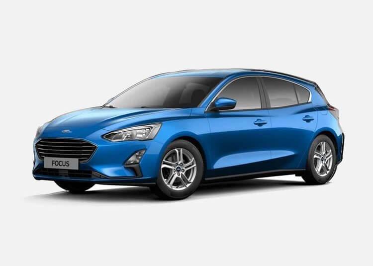 Ford Focus Hatchback Titanium 1.5 Benzyna FWD 150 KM Manual Desert Island Blue