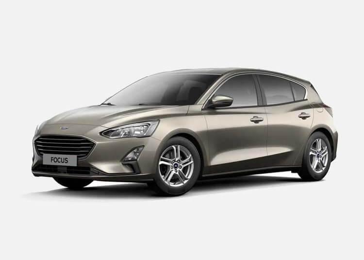 Ford Focus Hatchback Titanium Bisness 1.5 Diesel FWD 120 KM Manual Diffused Silver