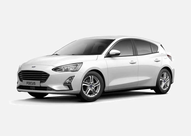 Ford Focus Hatchback Trend 1.0 Benzyna FWD 125 KM Manual Frozen White
