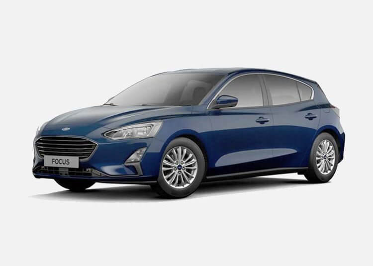 Ford Focus Hatchback Trend 1.5 Diesel FWD 95 KM Manual Blue Metallic