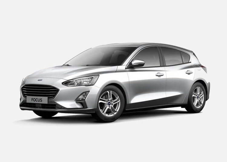 Ford Focus Hatchback Trend Edition Business 1.0 Benzyna FWD 125 KM Manual Moondust Silver