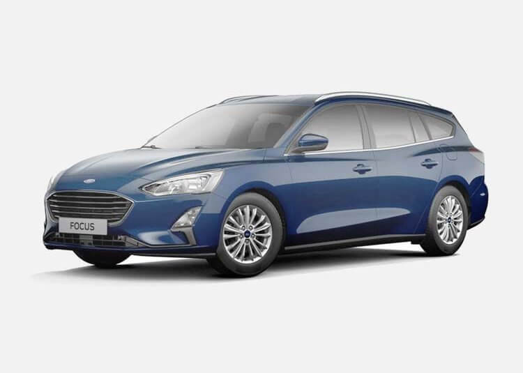 Ford Focus Wagon Trend Edition 1.0 Benzyna FWD 125 KM Manual Blue Metallic