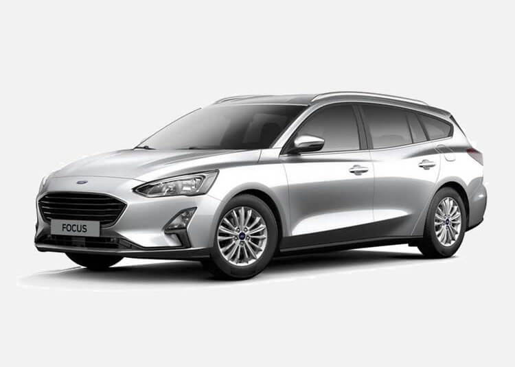 Ford Focus Wagon Trend Edition 1.0 Benzyna FWD 125 KM Manual Moondust Silver
