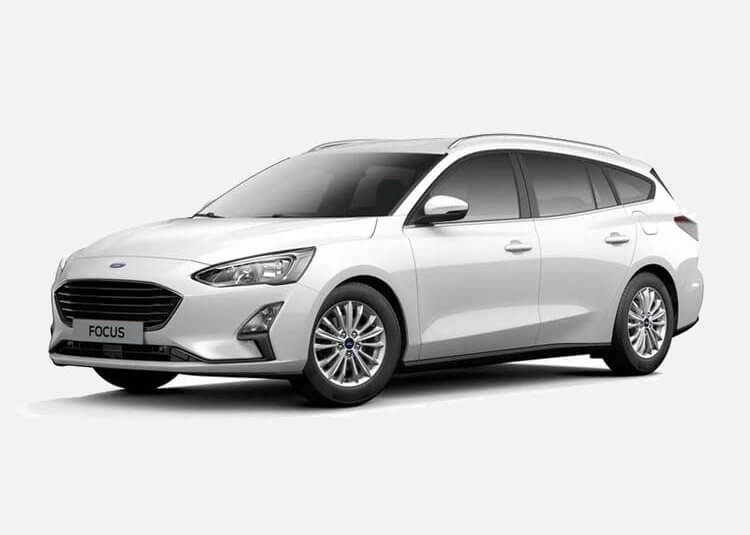 Ford Focus Wagon Trend Edition 1.5 Diesel FWD 120 KM Manual Frozen White