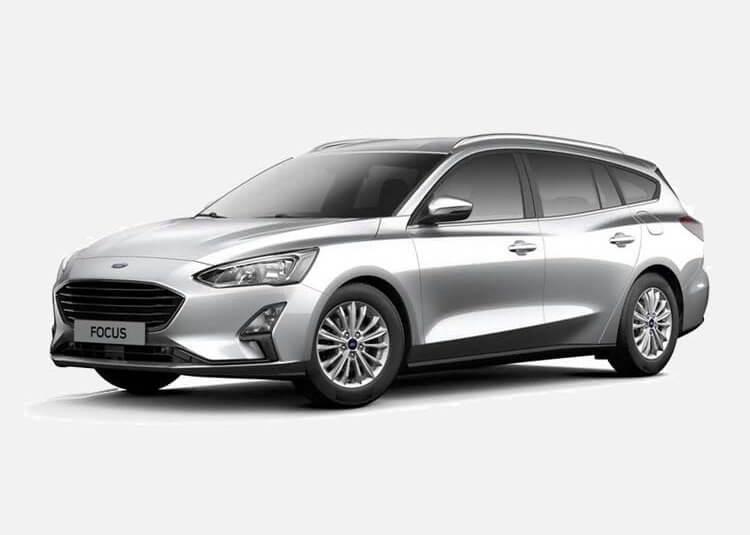 Ford Focus Wagon Trend Edition 1.5 Diesel FWD 95 KM Manual Moondust Silver
