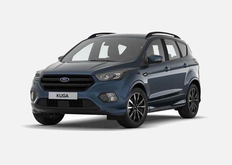 Ford Kuga SUV ST-Line 2.0 Diesel AWD 180 KM Automat Blue Metallic