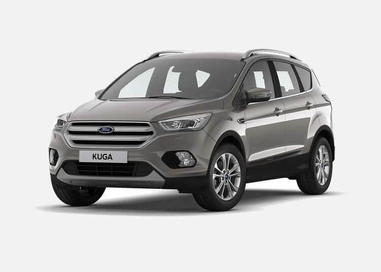Ford Kuga SUV Titanium 2.0 Diesel AWD 150 KM Manual Diffused Silver