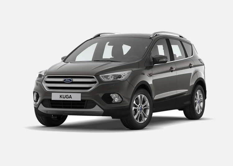 Ford Kuga SUV Titanium Gold X 2.0 Diesel AWD 150 KM Manual Magnetic Grey