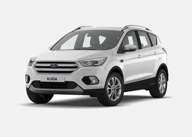 Ford Kuga SUV Titanium Pakiet X 1.5 Benzyna FWD 150 KM Manual White Platinium