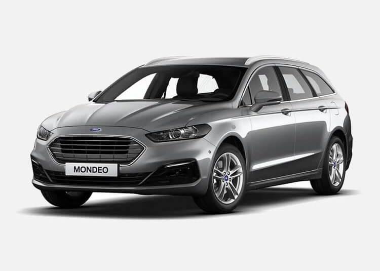 Ford Mondeo Wagon Trend 2.0 Diesel FWD 150 KM Manual Moondust Silver