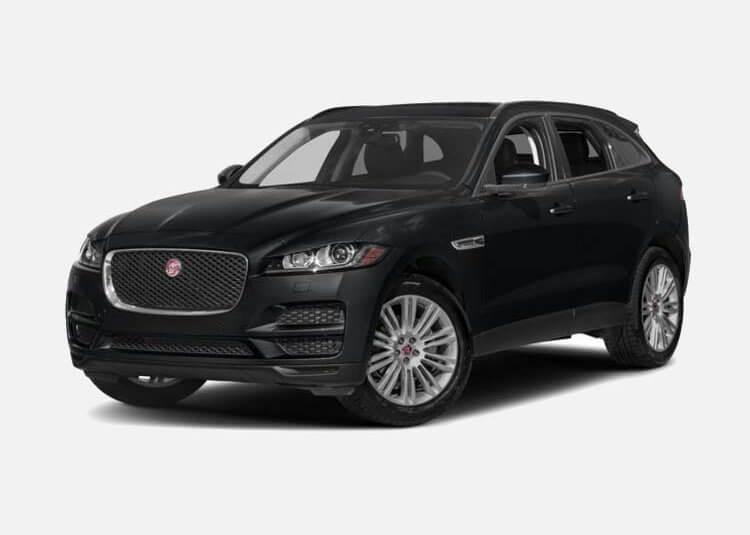 Jaguar F-PACE SUV Portfolio 2.0 Benzyna AWD 300 KM Automat Santorini Black