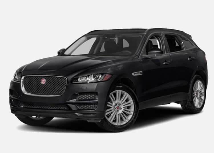 Jaguar F-Pace SUV Pure 2.0 Diesel RWD 163 KM Manual Narvik Black