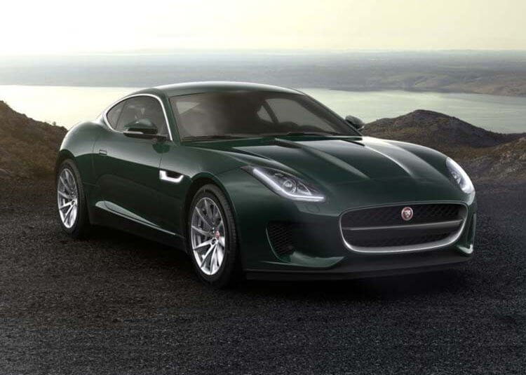 Jaguar F-Type Coupe Standard 2.0 Benzyna RWD 300 KM Automat British Racing Green