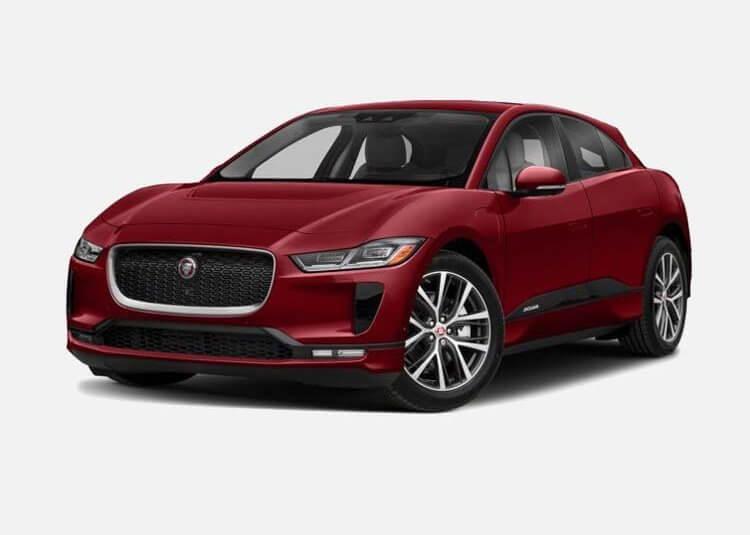 Jaguar I-Pace SUV HSE EV EV AWD 400 KM Automat Firenze Red