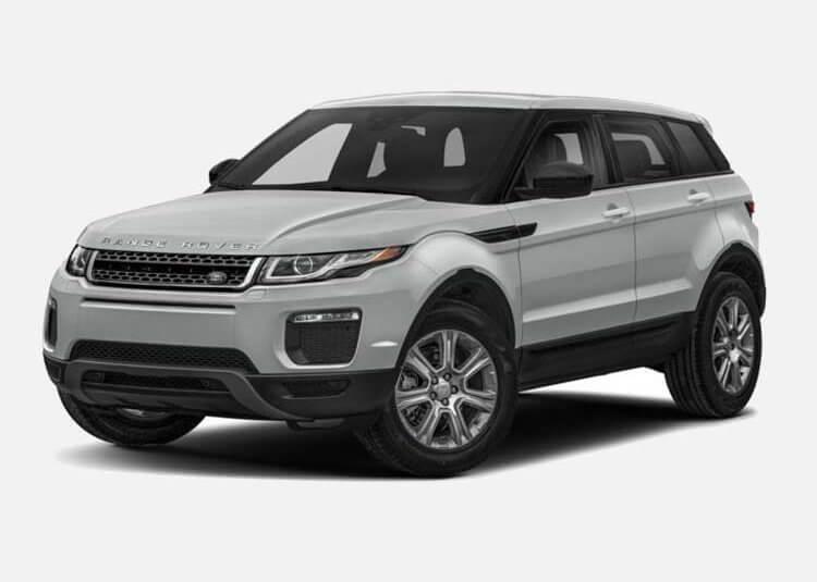 Land Rover Range Rover Evoque SUV SE 2.0 Diesel 4WD 150 KM Automat Indus Silver