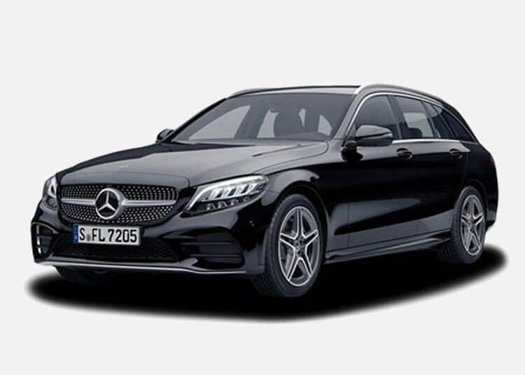 Mercedes C 200 Kombi 1.9 Benzyna xDrive 184 KM Automat Czarny