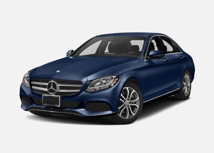 Mercedes C 200 Sedan 1.5 Benzyna xDrive 184 KM Automat Błękit brylantu