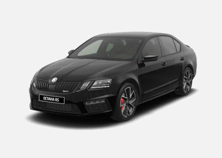 Skoda Octavia Sedan RS 2.0 Diesel AWD 184 KM Automat Czarny Magic