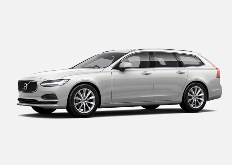 Volvo V90 kombi D4 Momentum 2.0 Diesel FWD 190 KM Automat Crystal White Pearl